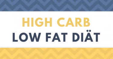 High Carb Low Fat Diät